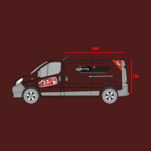 7M3 bedrijfswagen met shortlease